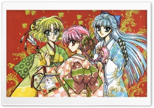 Magic Knight Rayearth​ HD Wide Wallpaper for Widescreen