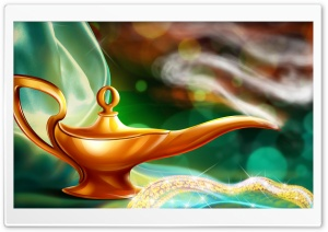 Magic Lamp HD Wide Wallpaper for 4K UHD Widescreen desktop & smartphone