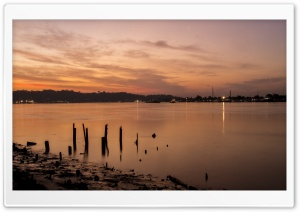 Mahakam River HD Wide Wallpaper for 4K UHD Widescreen desktop & smartphone