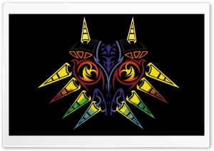Majoras Mask HD Wide Wallpaper for Widescreen