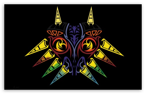 Majoras Mask HD wallpaper for Wide 16:10 5:3 Widescreen WHXGA WQXGA WUXGA WXGA WGA ; HD 16:9 High Definition WQHD QWXGA 1080p 900p 720p QHD nHD ; UHD 16:9 WQHD QWXGA 1080p 900p 720p QHD nHD ; Standard 3:2 Fullscreen DVGA HVGA HQVGA devices ( Apple PowerBook G4 iPhone 4 3G 3GS iPod Touch ) ; Mobile 5:3 3:2 16:9 - WGA DVGA HVGA HQVGA devices ( Apple PowerBook G4 iPhone 4 3G 3GS iPod Touch ) WQHD QWXGA 1080p 900p 720p QHD nHD ;