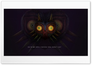 Majoras Mask HD Wide Wallpaper for 4K UHD Widescreen desktop & smartphone