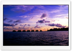 Maldives Seascape HD Wide Wallpaper for Widescreen