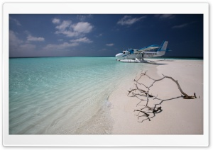 Maldivian Air Taxi HD Wide Wallpaper for Widescreen