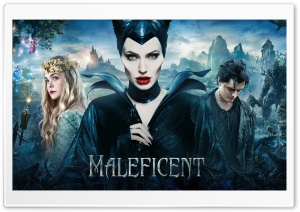 Maleficent 2014 HD Wide Wallpaper for 4K UHD Widescreen desktop & smartphone
