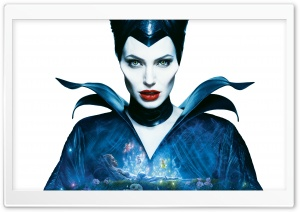 Maleficent Angelina Jolie HD Wide Wallpaper for Widescreen