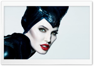Maleficent Angelina Jolie Beauty HD Wide Wallpaper for Widescreen