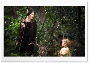 Maleficent Scene HD Wide Wallpaper for Widescreen