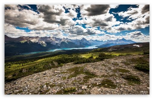 Maligne Lake view from Bald Hills, Alberta, Canada ❤ 4K UHD Wallpaper for Wide 16:10 5:3 Widescreen WHXGA WQXGA WUXGA WXGA WGA ; 4K UHD 16:9 Ultra High Definition 2160p 1440p 1080p 900p 720p ; UHD 16:9 2160p 1440p 1080p 900p 720p ; Standard 4:3 5:4 3:2 Fullscreen UXGA XGA SVGA QSXGA SXGA DVGA HVGA HQVGA ( Apple PowerBook G4 iPhone 4 3G 3GS iPod Touch ) ; iPad 1/2/Mini ; Mobile 4:3 5:3 3:2 16:9 5:4 - UXGA XGA SVGA WGA DVGA HVGA HQVGA ( Apple PowerBook G4 iPhone 4 3G 3GS iPod Touch ) 2160p 1440p 1080p 900p 720p QSXGA SXGA ;