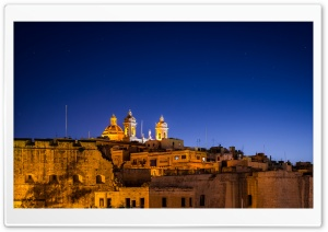 Malta by Night HD Wide Wallpaper for 4K UHD Widescreen desktop & smartphone