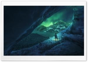 Man, Cave, Winter Ultra HD Wallpaper for 4K UHD Widescreen desktop, tablet & smartphone