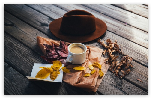 Man Hat, Milk with Coffee, Autumn Leaves, Outdoor ❤ 4K UHD Wallpaper for Wide 16:10 5:3 Widescreen WHXGA WQXGA WUXGA WXGA WGA ; 4K UHD 16:9 Ultra High Definition 2160p 1440p 1080p 900p 720p ; UHD 16:9 2160p 1440p 1080p 900p 720p ; Standard 4:3 5:4 3:2 Fullscreen UXGA XGA SVGA QSXGA SXGA DVGA HVGA HQVGA ( Apple PowerBook G4 iPhone 4 3G 3GS iPod Touch ) ; Smartphone 16:9 3:2 5:3 2160p 1440p 1080p 900p 720p DVGA HVGA HQVGA ( Apple PowerBook G4 iPhone 4 3G 3GS iPod Touch ) WGA ; Tablet 1:1 ; iPad 1/2/Mini ; Mobile 4:3 5:3 3:2 16:9 5:4 - UXGA XGA SVGA WGA DVGA HVGA HQVGA ( Apple PowerBook G4 iPhone 4 3G 3GS iPod Touch ) 2160p 1440p 1080p 900p 720p QSXGA SXGA ;