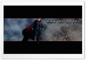 Man Of Steel - Metropolis HD Wide Wallpaper for Widescreen