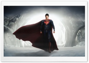 Man of Steel HD HD Wide Wallpaper for 4K UHD Widescreen desktop & smartphone