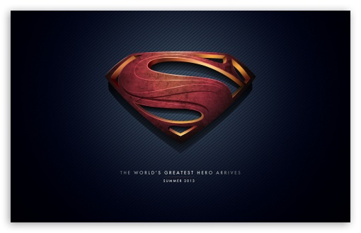 Man of Steel Logo HD wallpaper for Standard 4:3 5:4 Fullscreen UXGA ...