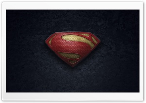 Man Of Steel Logo HD Wide Wallpaper for Widescreen