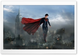 Man Of Steel Superman 2013 by Loganchico HD Wide Wallpaper for 4K UHD Widescreen desktop & smartphone
