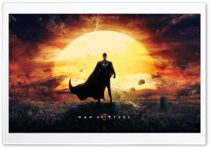 Man Of Steel Wallpaper Superman Movie HD Wide Wallpaper for 4K UHD Widescreen desktop & smartphone