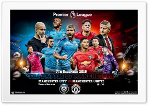 MANCHESTER CITY - MANCHESTER UNITED Ultra HD Wallpaper for 4K UHD Widescreen desktop, tablet & smartphone