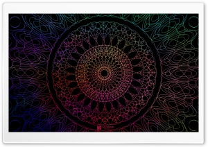 Mandala 1 HD Wide Wallpaper for Widescreen