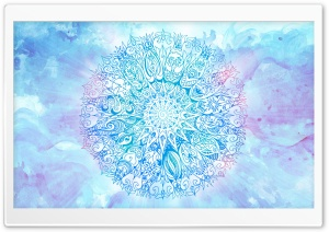 Mandala Anelie HD Wide Wallpaper for Widescreen