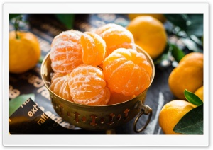 Mandarin Oranges Fruits HD Wide Wallpaper for 4K UHD Widescreen desktop & smartphone