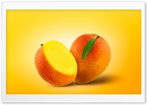 Mango Fruits Ultra HD Wallpaper for 4K UHD Widescreen desktop, tablet & smartphone