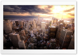 Manhattan HD Wide Wallpaper for 4K UHD Widescreen desktop & smartphone