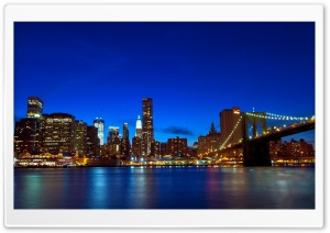 Manhattan HD Wide Wallpaper for Widescreen