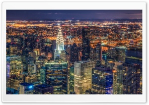 Manhattan Panorama HD Wide Wallpaper for Widescreen
