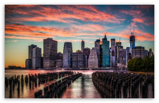 Manhattan Skyline Sunset HD wallpaper for Wide 16:10 5:3 Widescreen WHXGA WQXGA WUXGA WXGA WGA ; HD 16:9 High Definition WQHD QWXGA 1080p 900p 720p QHD nHD ; UHD 16:9 WQHD QWXGA 1080p 900p 720p QHD nHD ; Standard 4:3 5:4 3:2 Fullscreen UXGA XGA SVGA QSXGA SXGA DVGA HVGA HQVGA devices ( Apple PowerBook G4 iPhone 4 3G 3GS iPod Touch ) ; iPad 1/2/Mini ; Mobile 4:3 5:3 3:2 16:9 5:4 - UXGA XGA SVGA WGA DVGA HVGA HQVGA devices ( Apple PowerBook G4 iPhone 4 3G 3GS iPod Touch ) WQHD QWXGA 1080p 900p 720p QHD nHD QSXGA SXGA ;