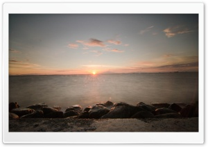 Manila Bay Sunset HD Wide Wallpaper for Widescreen
