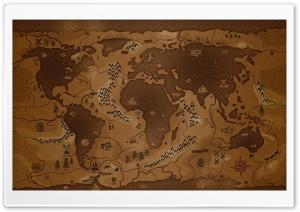 Map HD Wide Wallpaper for Widescreen