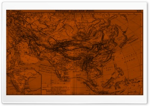 Map HD Wide Wallpaper for Widescreen