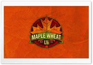 Maple Wheat HD Wide Wallpaper for Widescreen