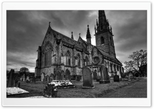 Marble Church, Bodelwyddan HD Wide Wallpaper for Widescreen