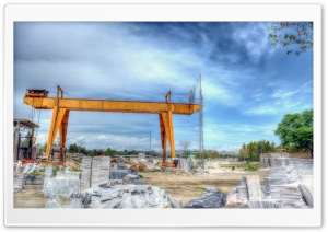 Marble Factory HDR HD Wide Wallpaper for Widescreen