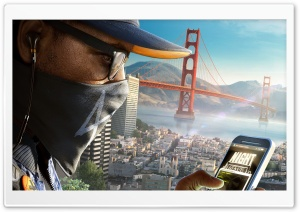 Marcus Watch Dogs 2 HD Wide Wallpaper for Widescreen