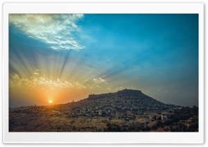 Mardin Castle HD Wide Wallpaper for Widescreen