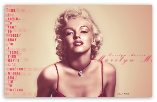 Marilyn Monroe HD wallpaper for Wide 16:10 5:3 Widescreen WHXGA WQXGA WUXGA WXGA WGA ; Mobile 5:3 - WGA ;