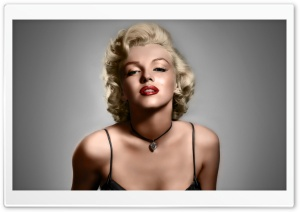 Marilyn Monroe Art HD Wide Wallpaper for Widescreen