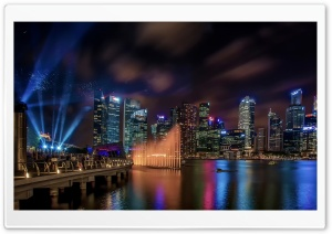 Marina Bay Sands Hotel Singapore HD Wide Wallpaper for Widescreen