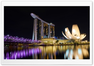 Marina Bay Sands The Worlds Most Photographed Buildings HD Wide Wallpaper for Widescreen