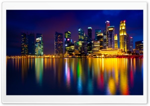 Marina Bay Singapore HD Wide Wallpaper for Widescreen