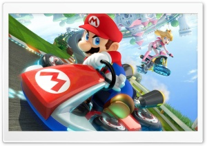 Mario Kart 8 2014 HD Wide Wallpaper for 4K UHD Widescreen desktop & smartphone
