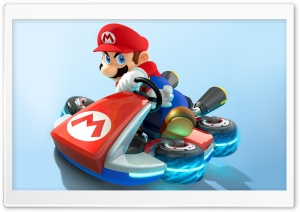 Mario Kart 8 - Mario HD Wide Wallpaper for 4K UHD Widescreen desktop & smartphone