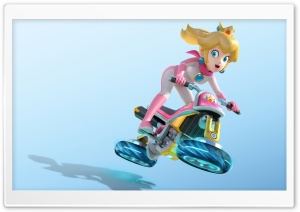 Mario Kart 8 Princess Peach HD Wide Wallpaper for Widescreen