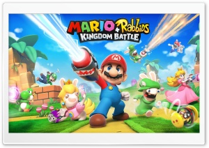 Mario  Rabbids Kingdom Battle 2017 game HD Wide Wallpaper for 4K UHD Widescreen desktop & smartphone