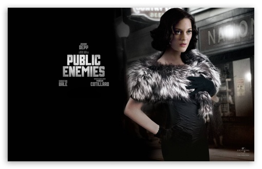 Marion Cotillard Public Enemies HD wallpaper for Wide 16:10 5:3 Widescreen WHXGA WQXGA WUXGA WXGA WGA ; HD 16:9 High Definition WQHD QWXGA 1080p 900p 720p QHD nHD ; Standard 4:3 3:2 Fullscreen UXGA XGA SVGA DVGA HVGA HQVGA devices ( Apple PowerBook G4 iPhone 4 3G 3GS iPod Touch ) ; iPad 1/2/Mini ; Mobile 4:3 5:3 3:2 16:9 - UXGA XGA SVGA WGA DVGA HVGA HQVGA devices ( Apple PowerBook G4 iPhone 4 3G 3GS iPod Touch ) WQHD QWXGA 1080p 900p 720p QHD nHD ;