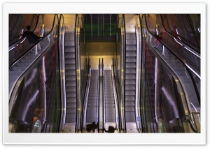 Markthal Escalators HD Wide Wallpaper for Widescreen